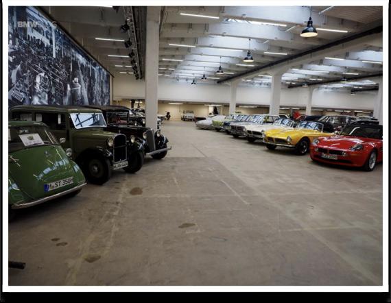 BMW - Attracciones Munich - BMW Classic - BMW Classic - Internal View 2