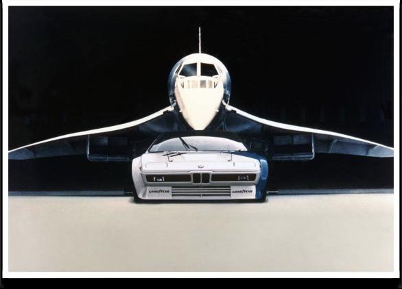 BMW M1 E26 x Concorde