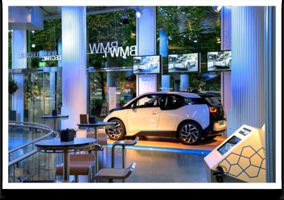 BMW Lenbachplatz Vista Interna