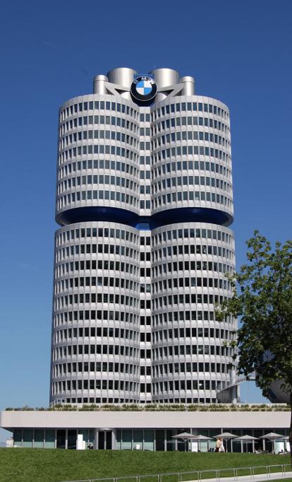 BMW Edificio Sede Munich