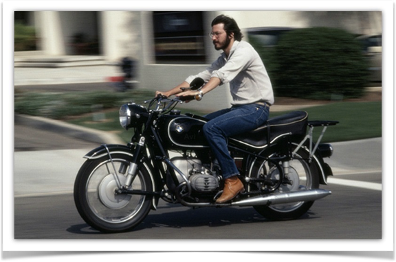 Steve Jobs - BMW R60/2
